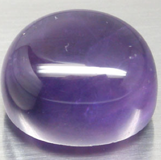 Amethyst 1875 Ametista naturale cabochon di colore viola intenso da 18,75 carati